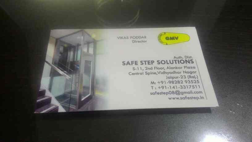 Elevator dealer in Jaipur   . Safe Step Solution is authorized distributor of Home Elevators.