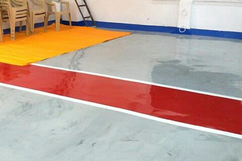 Permanent Astle Marking Flooring In Chennai - by Mpr Technique (India) Pvt Ltd, Chennai