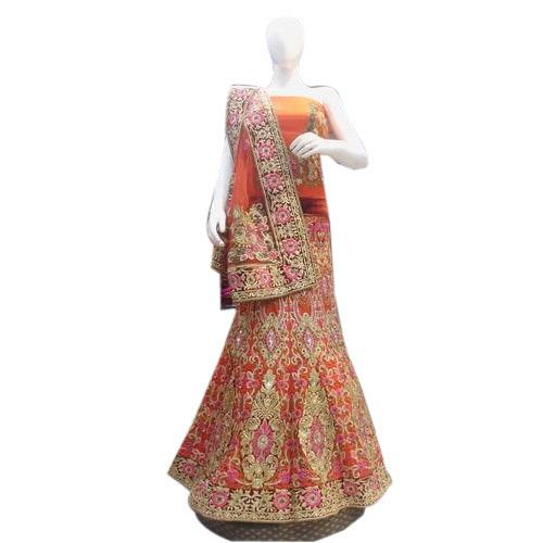 Traditional Bridal Lehengas Dealers in Delhi.  While fulfilling special needs of the bridal collection, we are offering a wide variety of Traditional Bridal Lehengas in the market. These lehengas are designed exclusively by the creative des - by Bridal Lehengas +91-9716701254, Delhi