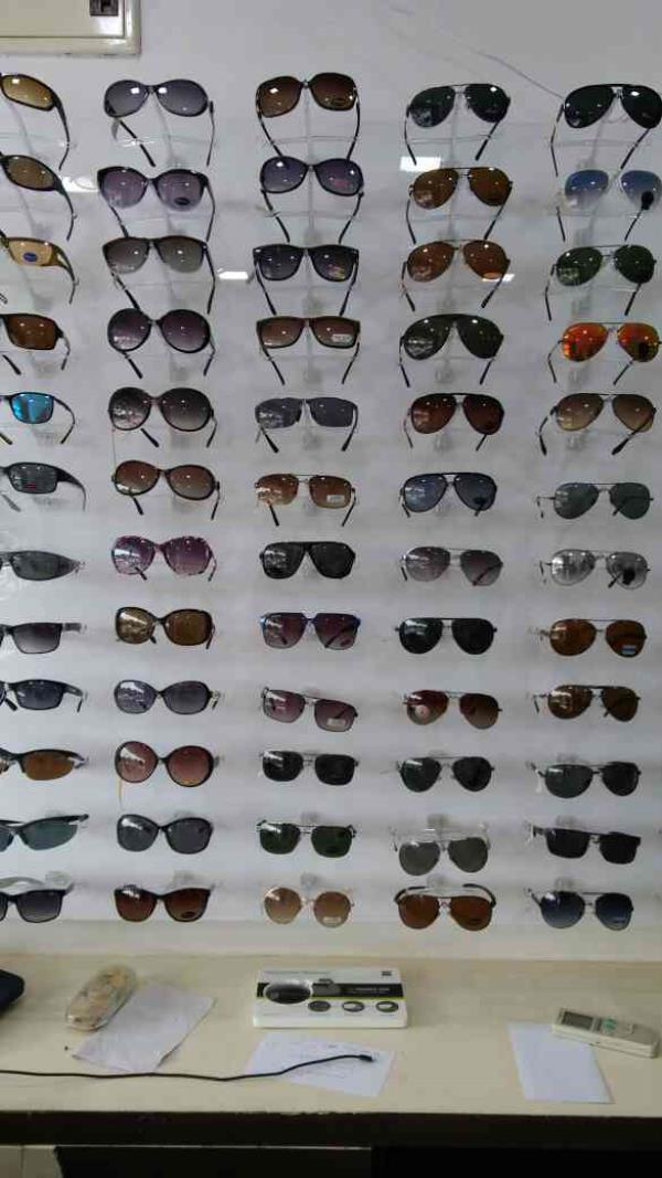 wide rangr of polarized sunglasses. available at best rate in vadodara visit our store at Trident complex OP road. call us  - by Optic Care, Vadodara
