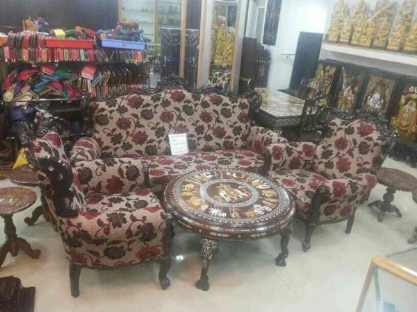 New sofa set in Vadodara Gujarat - by Andhara Cane Handicrafts, Vadodara