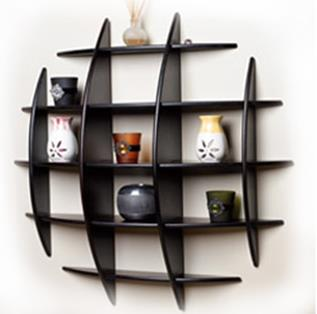Wall Shelves Supplier in Chennai  - by Planet Furniture, Chennai