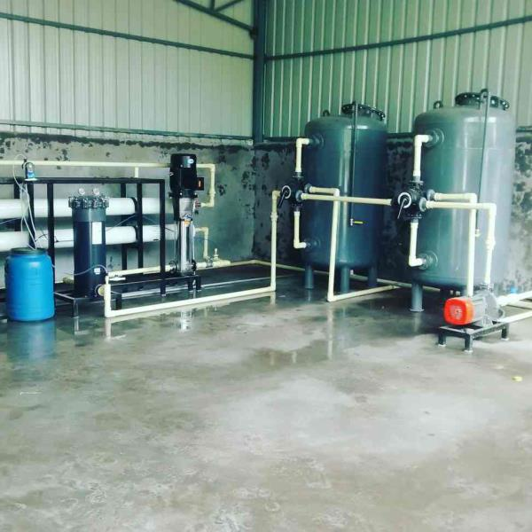 10 m3/Hr Industrial Reverse Osmosis Plant Installed at Sri Sai Baba Cellulose Pvt Ltd, Patancheru, Hyderabad - by Innovative Water Technologies, Secunderabad