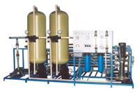 Ind. R O Plant  Osmosis is a natural process. When two liquids of different concentration are separated by a semi permeable membrane, the fluid has a tendency to move from high to low concentrations for chemical potential equilibrium. Forma - by Shakti Ion Exchange, Ahmedabad