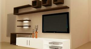 We are manufacturer of Modular TV unit. We are located in Vadodara, Gujarat.  We are a leading supplier of Modular TV unit in Manjalpur, Vadodara. - by Ultra Kitchen Cabinets Pvt Ltd, Vadodara