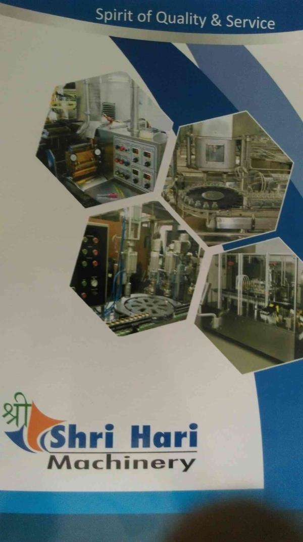 we are leading manufacturer of liquid filling machine in Ahmedabad - by Shree Hari Machinery, Ahmedabad