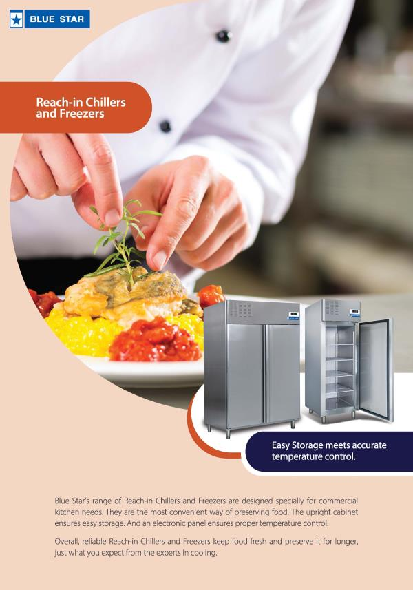 Newly launched Blue star,  Reach in freezers and coolers, Undercounter freezers and cooler available in different capacities, Total stainless steel fabricated. Contact:8008823458 Email:freezeairmarketing@bluestarchannel.com