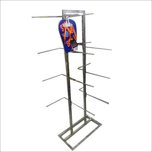 Sleeper stand Footware stands  Steel footware stand Steel stand for chappals Steel sleepers stand