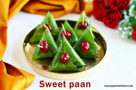 Sweet Paan available in bangaore
