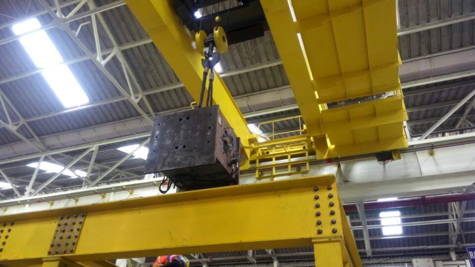 Crane Testing for Safe Working Load. - by Neo Ropes & Tackles P Ltd, Chennai