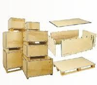 This box assembly usually consists of six parts. The parts are assembled together to made a box unit. It comprises of a bottom , top and a pair of Sides & Ends not joined together delivered separately. The sides and ends are then interlocked on the base with the help of a High Strength Galvanized Steel to provide the strength to the box. We are the best Euro Pallet manufacturer in hyderabad, Export Packing manufacturer in gurgaon, Nailless Box manufacturer in delhi and Foldable Plywood box manufacturer in pune .