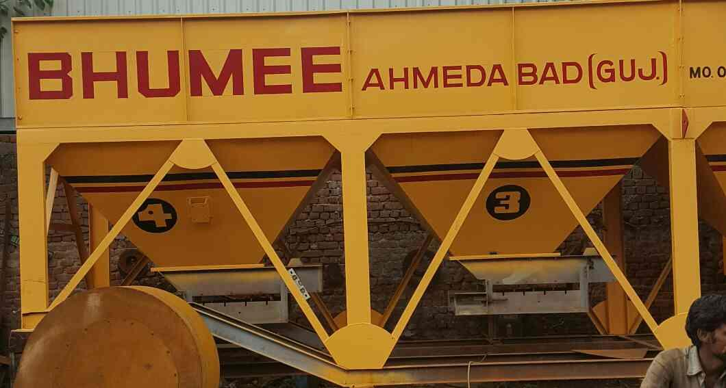 MANUFACTURER OF ALL TYPE OF ROAD CONSTRUCTION MACHINERIES - by Bhumee Road Equipments, Ahmedabad