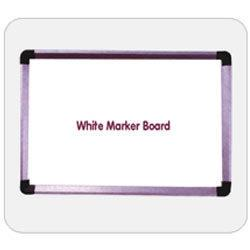 We offer an exclusive range of White Display Boards in siddipet.  which used as a presentation aid. These are the best to be used in conference rooms. These do not require chalk to write and is thereby one of the cleanest method. Our range  - by Esquire Display Boards, Hyderabad