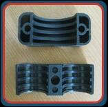 Cable Support Cleat  These stackable system supports are manufactured from high- grade, specially formulated polyamides. The material is self-extinguishing and free of halogen, phosphor and cadmium and is extremely shock-resistant. They are specially designed for increased mechanical requirements in the traction industry and offer the following.