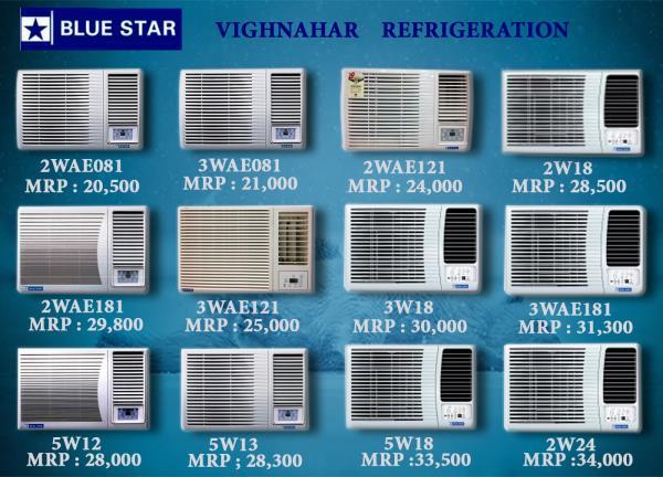 All types of Window AC dealer in Ghatkopar.
