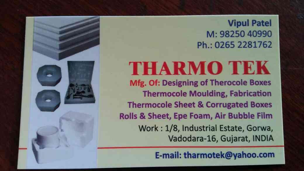 Fabrication thermocole sheet also manufactured at us at tharmo tek gorwa, vadodara, Gujarat. - by Tharmo Tek, Vadodara