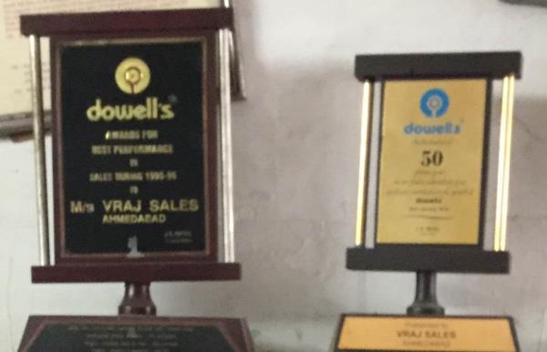 Award winner - by VRAJ SALES, Ahmedabad