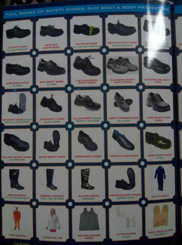 Best safety shoes traders in maninagar Ahmadabad Gujarat India  - by Ravi Fire& Safety Enterprise , Ahmedabad