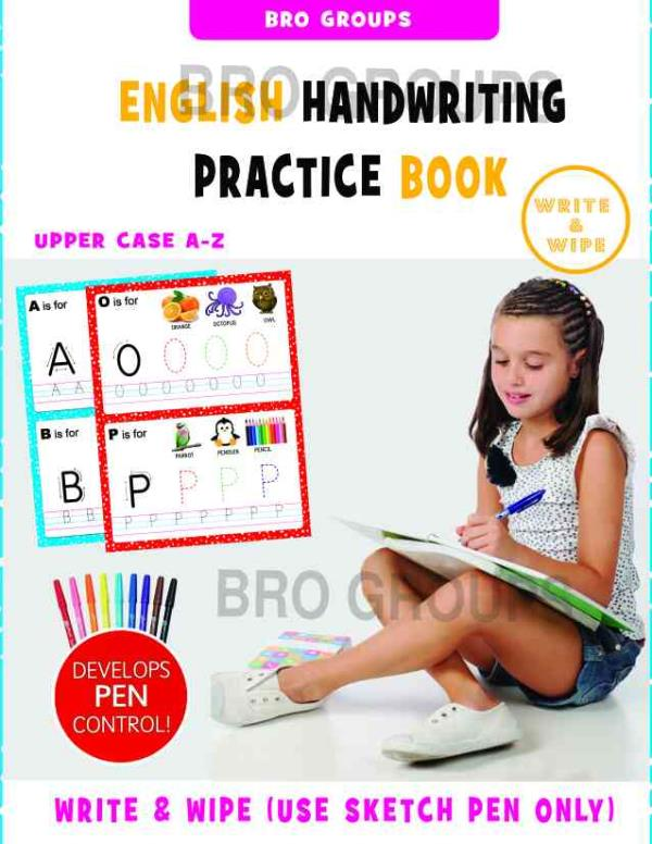 The Wipe And Clean Books are Helps To Improve The Children Handwriting And Also Knowledge Reusable Books Coimbatore, Tamilnadu - by Bright Books, Coimbatore