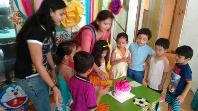 birthday celebration - by Olivegreenkidsschòol, Ahmedabad