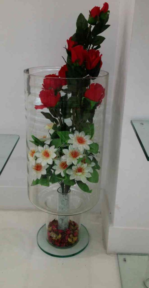 Dboro Jumbo Vase  Dboro Glass Furniture are a leading manufacturer of Boro Silicate Jumbo Vase.  We are located in Vadodara, Gujarat.  We are a leading supplier of Boro Silicate Jumbo Vase in Jamnagar, Gujarat.