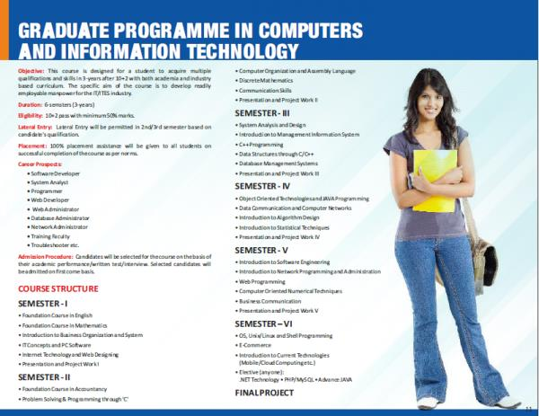 Admissions open for vacant seats in Graduate Programme in Computers and Information Technology!!! http://www.mahaninstitute.in/index.php?module=product& itemID=31836& event=detail& pid=Graduate-Programme-in-Computers-Information-Technology