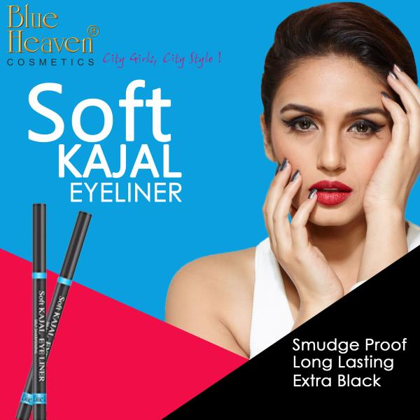 Let your Intense eyes do all the talking and grab everyone's attention with the Blue Heaven Cosmetics #Kajal, which is the ultimate product to make your eyes look bigger and intense.  Soft Kajal, Eyeliner