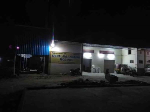 palani Andavar rice mill protected with majuar m-tech HikVision cctv Dindigul  - by MAJURA M-TECH, Dindigul
