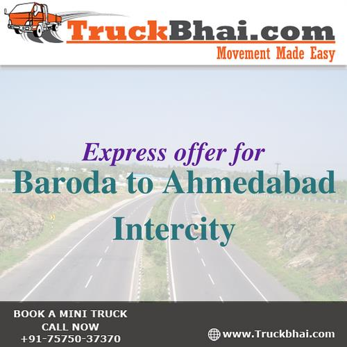 Truckbhai.com has started Express deliveries on following routes  Vadodara Airport – JNPT Port Mumbai  Vadodara Airport – Ahmedabad International Airport  Ahmedabad International Airport – Chhatrapati Shivaji International Airport, Mumbai  Please book you express deliveries through our website  Click Here  or call us on 75750 37370