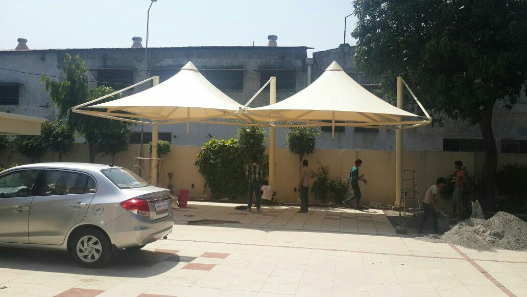Manufacturers of tensile structures for any type of tensile shades canopies umbrellas ect..  For More Info   www.arcwaytensilestructures.com   Arcway - Tensile Structures Manufacturers in Jalalndhar  - by Arcway Tech Structures, New Delhi