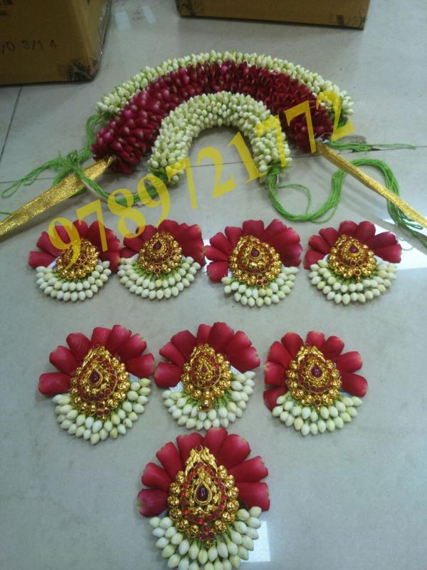 Best Bridal Flower Designers in Coimbatore. We design the Bridal Flowers as per the customer. Bridal Flower Designing in Coimbatore Bridal Flowers in Coimbatore