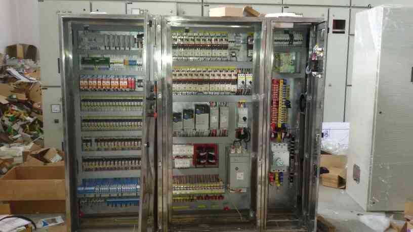 PLC cum MCC control Panel Stainless Steel 316L