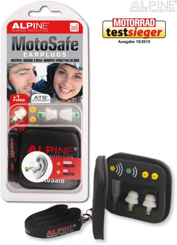 Enjoy your Motor Bike ride with Alpine Ear Plugs