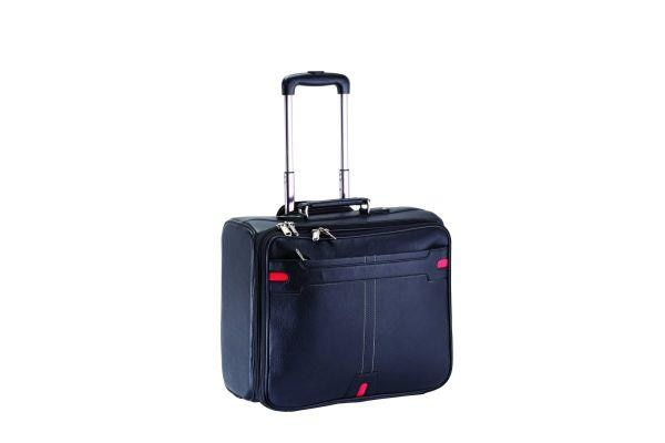 Item Code KK-92609  Material: Leatherite Trolley Bag  - by Kakkoo Birdy's -Leather Gift Items, New Delhi