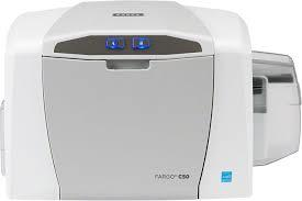 The FARGO® C50 plastic ID card printer offers a simple and reliable solution – at a price everyone can afford.  Plug-and-play, the C50 can create personalized plastic ID cards for membership and loyalty cards, casino employee IDs, or visitor badges for schools whenever and wherever you need them, in five minutes or less.  Featuring a sleek, compact design, the C50 makes it an easy to fit even in the smallest of office settings. Designed with efficiency in mind, the C50 comes with built-in Swift ID™ badging software, automatic printer health monitoring via the included FARGO Workbench™ diagnostic utility and an easy to install, all-in-one printer ribbon and card cleaning cartridge, making your in-house plastic ID card printing virtually worry-free.   Backed by a global two-year warranty, the C50 plastic ID card printer can be seamlessly integrated to work with other HID products, ensuring that you receive and retain the maximum value from the most trusted name in secure identity solutions.