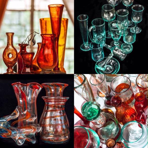 House of Treasures Emporium sells a stunning collection of hand blown glass ware by Anselm Kitengela Hot Glass in lovely bright colours. Visit our showroom in Karen to discover hidden treasures... We are open on Sunday's. #houseoftreasureskenya #kitengelahotglass #glasses #vases #jugs #colours #openonsundays #handblownglass #karennairobi
