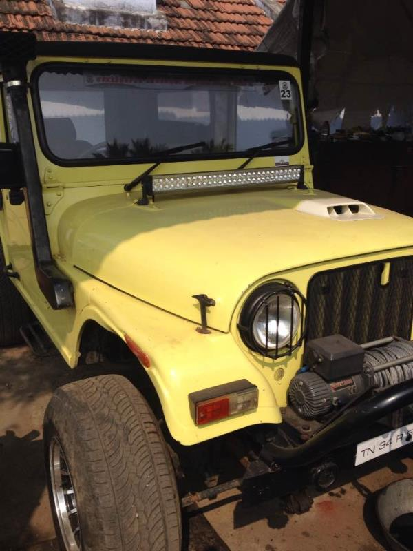 Customised Mahindra with a different heart .. Ready to roll in forest ..  - by Cars Fitness, Coimbatore