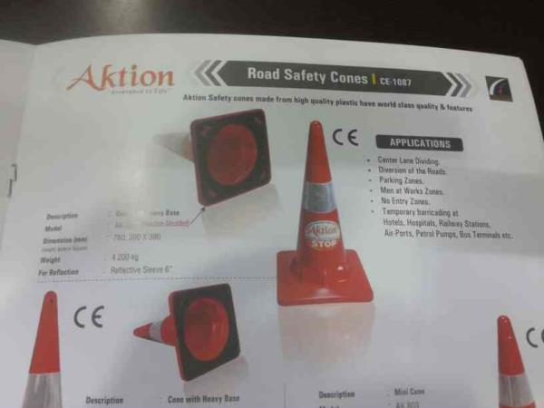 Road Safety Equipments Manufacturer in Hyd.Aktion Safety.more details visit www.aktionsafety.com - by Aktion Safety Solutions Pvt. Ltd., New Delhi