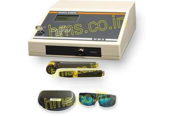 """Computerized Laser Therapy Equipment Manufacturer in India    The Computerized Laser Therapy Equipment DIGILASER is intended to cure the pain using effective method. This Laser Therapy Equipment is featured with advanced options like multiple probes, shortcut keys and large display screen. Laser Therapy is used to cure the pain efficiently. This method of curing is also called as """"photo bio-modulation"""".  This Laser Therapy Equipment is equipped with various curing methods i.e. low level laser therapy (LLT), laser Bio-stimulation and cold laser therapy. These ranges of Laser Therapy Equipment are ideal for wound healing, Nerve regeneration, pain management, Cosmetic Regeneration, etc."""