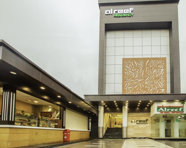 Alreef Residency  Kodambakkam Chennai,   The hotel is located in a centre part of chennai. It is a best location for those who arrive in chennai for pleasure and business. Only a few kilometres from the hotel is the Airport, IT Corridor, Marina Beach, Chennai Trade Centre, US Consolate, T.nagar Shopping, Important Shopping Malls, Multiplexes and Recreation Clubs. It offers world class facilities and personalized services at the most reasonable rates. Its stylish interiors and superb services are bound to win your heart. Get a unique blend of business and pleasure at extremely affordable prices.