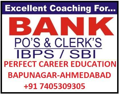 In the IBPS PO exam it looks almost same as to the clerical. Only one section the Quantitative Aptitude is new. Quantitative Aptitude Test will include numerical and arithmetic questions along with advanced reasoning and interpretation of tables, graphs etc. Earlier there was a written English Test in the syllabus for a PO exam; however it was removed when IBPS introduced online examination in 2016. ibps classes in ahmedabad, ibps po classes in ahmedabad, ibps po classes in bapunagar ahmedabad