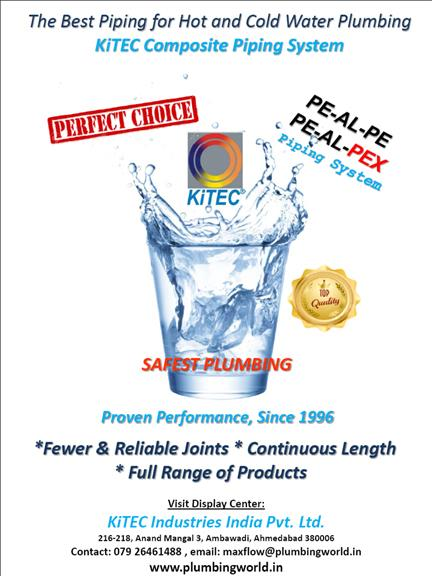 We are in Plumbing Business Since 1997 in the state of Gujarat. We Started as a marketing Company for Plumbing Products and slowly moved to selling the plumbing systems by Providing Services - Like Designing, Training and Testing there by creating awareness of Plumbing Engineering.  Our mission is to market the state of art International Plumbing Products to upgrade Plumbing in totality with the support from our principals in GUJARAT.  We are Distributors / Channel Partners for following Plumbing Brands:  KiTEC Composite Piping System ACO External Surface Drainage Systems ACO Internal Building Drainage Systems ACO Landscape Products ACO Separation Systems PAM Saint Gobain CI Hubless Drainage System Geberit Councealed Flush Tank Geberit, Capricorn, Bonomini Accessories Insulation Material based on Nitrile Foam and Asbestos Dori Valves : Ball Valves, NRV, PRV and Butterfly Valves and Sewerage NRVs Air Admittance Valve (Drainage Venting) FRP Covers and Gratings Plumbing Accessories Clamps, Specialty Valves etc… Dealership Inquires are solicited across GUJRAT region for some of the Brands.  Please do write us about any required plumbing issues, Our team will try to provide you with possible solutions and will offer world class products at reasonable costs.  ASK US www.plumbingworld.in