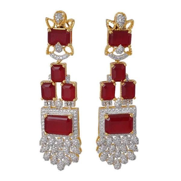 Earrings Made from high quality colour crystal and Cz . With fine finished and gold plated . Beast designs for Weeding Earrings .We are Manufacturer of fashion Earring in India .