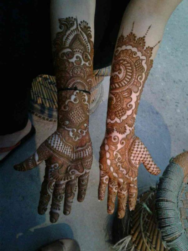 Best Mehandi Designer Mehandi Is Tditional  - by Anuj Mehandi Artist, New Delhi
