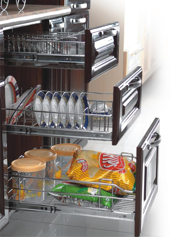Modular Kitchen Basket Available At Orina Kitchens Kitchen Baskets Such As  Plain Basket, Pullout