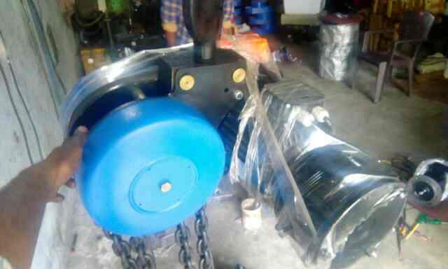 motorised chain pulley block in ready stock