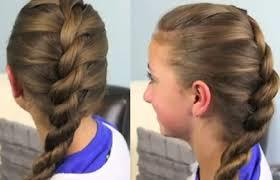 French Twist Braid Hairstyle in Spa, RS Puram, Coimbatore.  Are you just loving this French Twist Braid Hairstyle? It is a great look for about any occasion, School dance or just for every day...