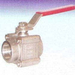 We are one of the leading manufacturers and suppliers of high quality Screwed Ball Valves. Manufactured from stainless steel, these ball valves are used for the purpose of controlling the flow of various fluids passing through these valves. Due to their ability to withstand extreme temperature and pressure, these valves are highly demanded for use in various industry applications.   we leading manufacturing screwed ball valves in ahemadabad Gujarat.