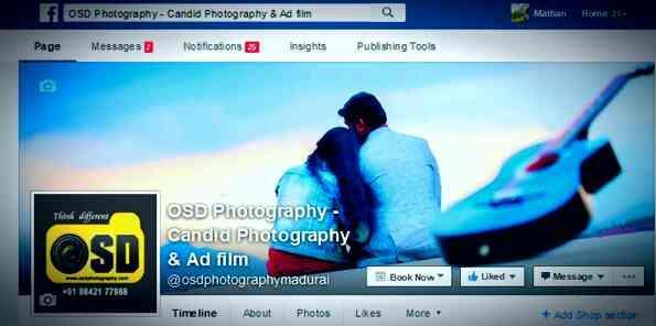 Add Flim Photography In Madurai