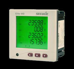 Multi-function Panel Meters Elite Series  Elite is our range of three-phase multi-function digital panel meters for accurate and reliable measurement of electrical parameters (voltage, current, power, frequency, etc) in industrial and commercial applications (voltage, current, power, frequency, etc.). Integrated Modbus   We Are The Leading Supplier Of Multi-function Panel Meters Elite Series In India